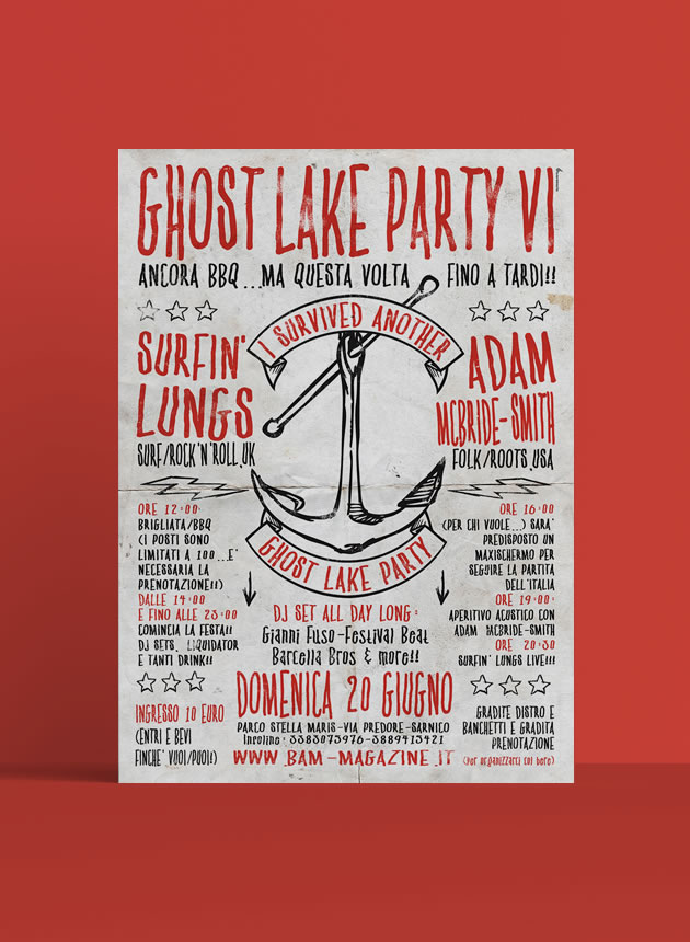 Ghost lake party IV